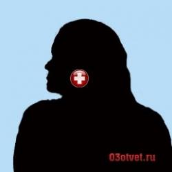 женщина с тонзиллитом